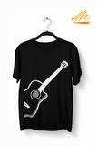 White Guitar T-Shirt