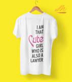Cute Lawyer Girl T-Shirt