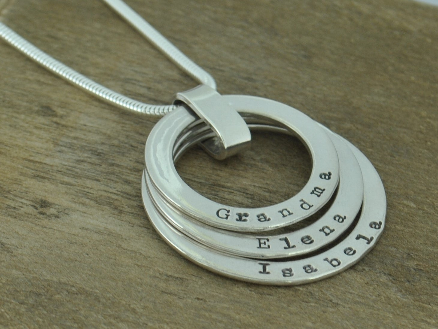 Triple name family mothers sterling silver personalised pendant triple name family mothers sterling silver personalised pendant necklace aloadofball Choice Image