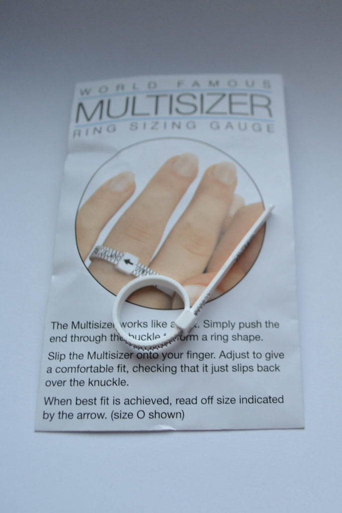 Multisizer - Ring Sizing Gauge - UK sizes