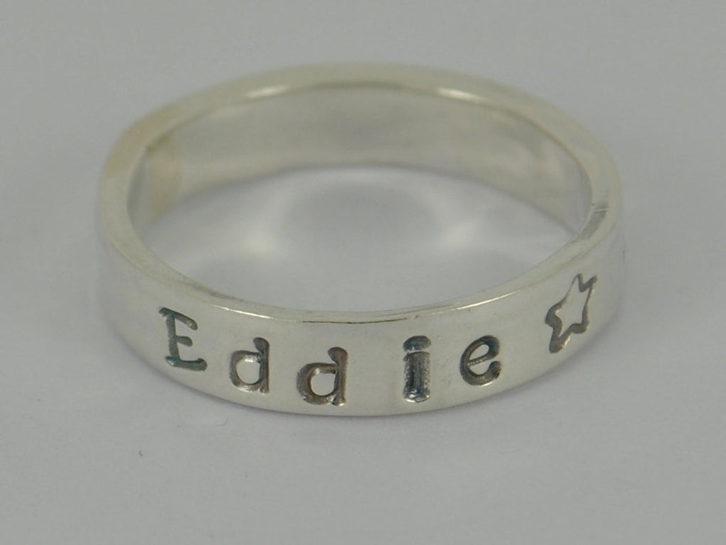 Stunning PERSONALISED sterling silver Mother's ring - jewellery family mum mother day jewelry