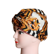 Load image into Gallery viewer, Lux Satin Print Turban