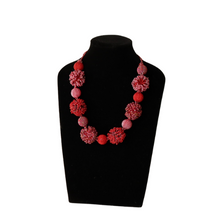 Load image into Gallery viewer, Red Short Necklace