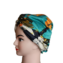 Load image into Gallery viewer, Paint Splat Print Turban