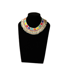 Load image into Gallery viewer, Multicolor Choker Necklace