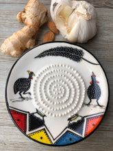 Load image into Gallery viewer, Peacock - Ceramic Grater Plate