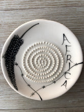 Load image into Gallery viewer, Africa - Ceramic Grater Plate