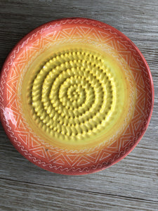 Hello Sunshine - Ceramic Grater Plate