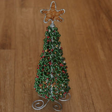 Load image into Gallery viewer, Beaded Christmas Tree