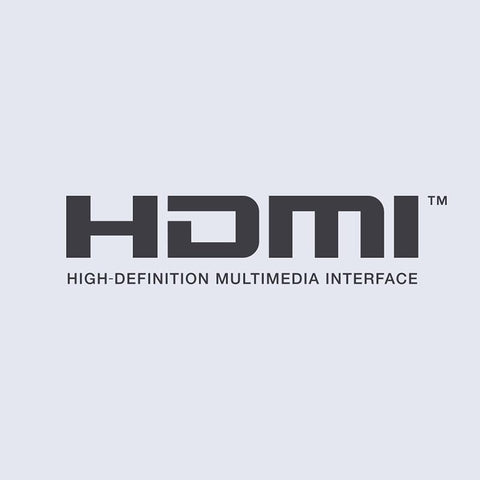 HDMI™ output for simple set-up