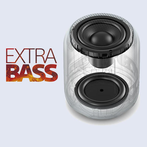Bring dance music to life with EXTRA BASS