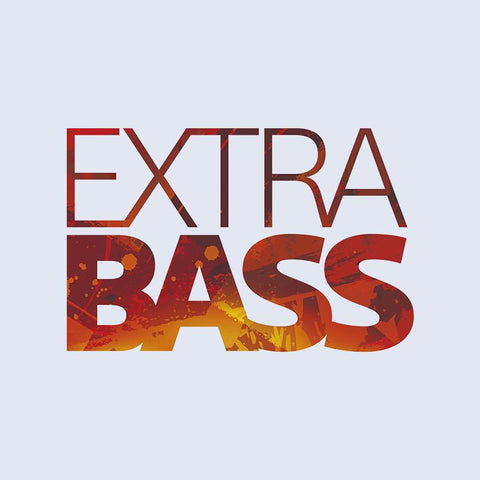 EXTRA BASS for impressively deep, punchy sound
