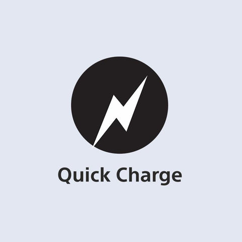 Save time with quick charge