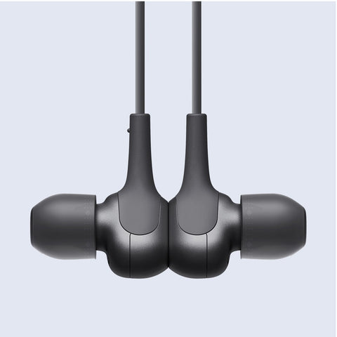 Magnetic earbuds for tidy stowaway