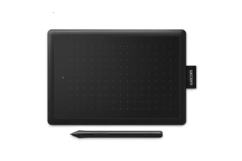 Wacom One CTL-672/K0-CX Medium 8.5-inch x 5.3-inch Graphic Tablet