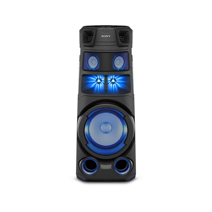 Sony Party Speaker MHC-V83D High Power Audio System with Bluetooth (Karaoke, Gesture Control, Party Light)