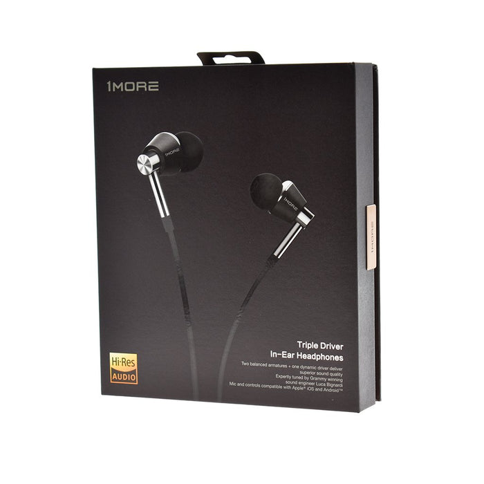 1MORE Triple Driver Earphone with Mic (THX certified)