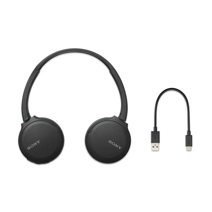 Sony WH-CH510 Wireless Bluetooth Headphones with 35 Hours Battery Life, Headset with MIC for phone calls with Voice Assistant