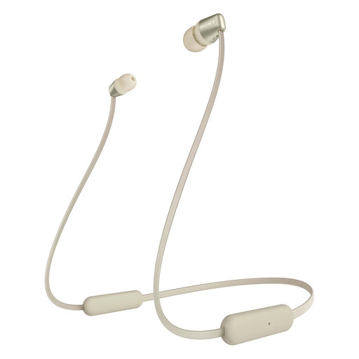 Sony WI-C310 in-Ear Wireless Bluetooth Headphones with MIC, 15 Hours Battery Life, Magnetic Earbuds and Tangle Free Cord