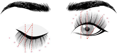 doll eyelash extension style