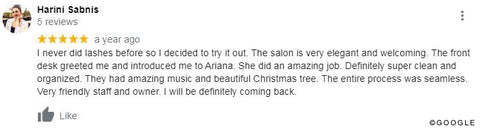 review the lash lounge