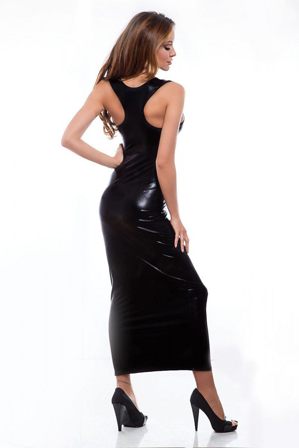 langes Wetlook-Kleid Livia Long von Hamana Dessous