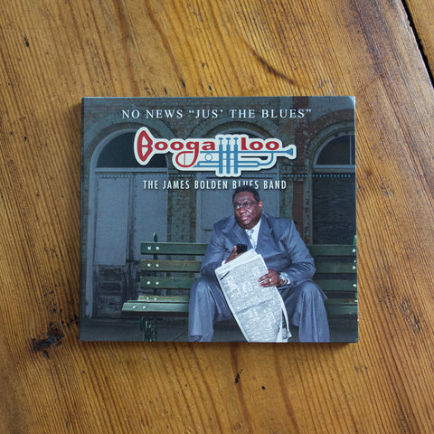 "Boogaloo - No News ""Jus' the Blues"" CD"