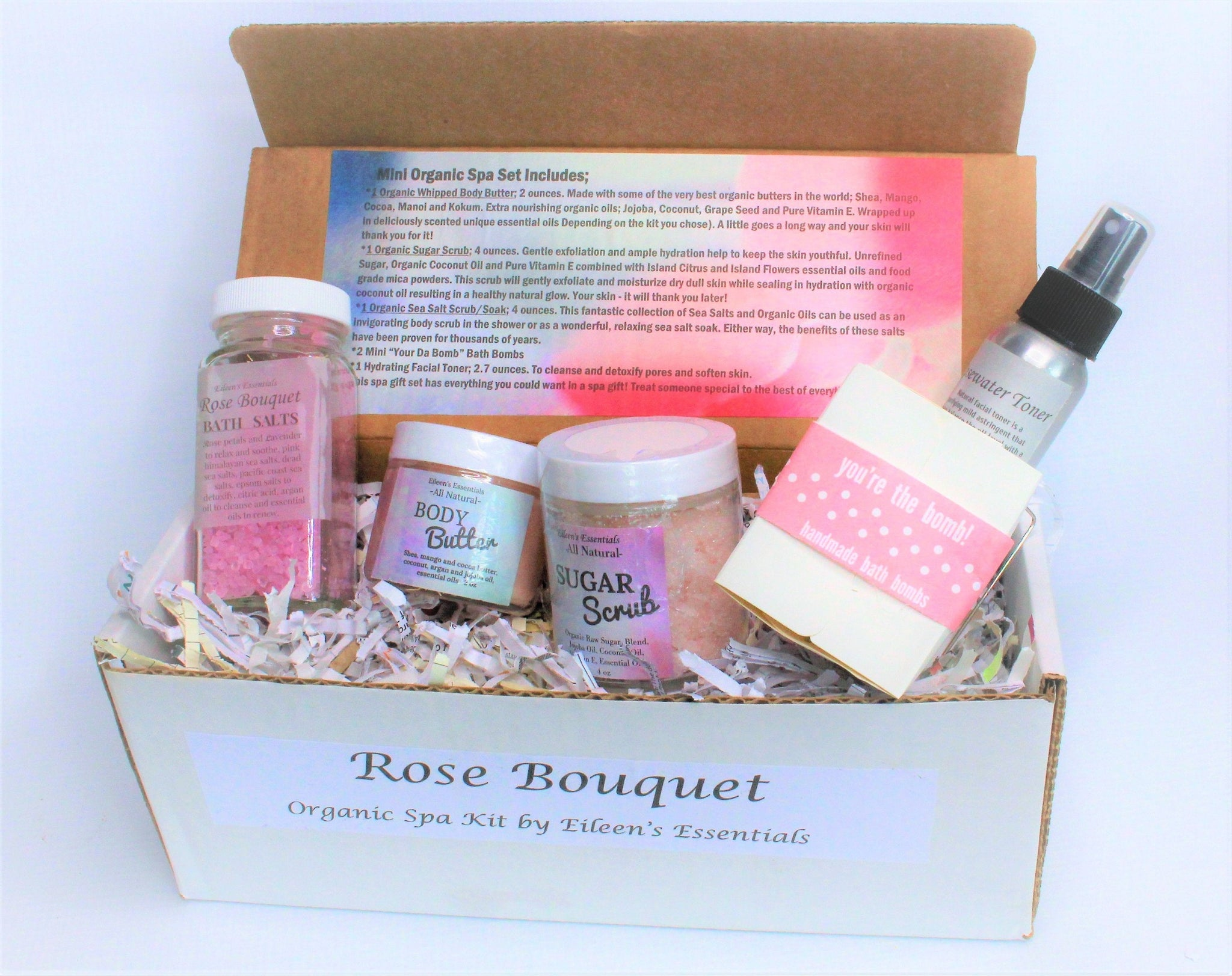 Spa Gift Set Rose Bouquet