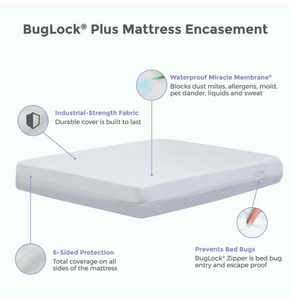 Protect-a-bed BugLock Mattress Cover