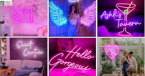 personalized neon lights
