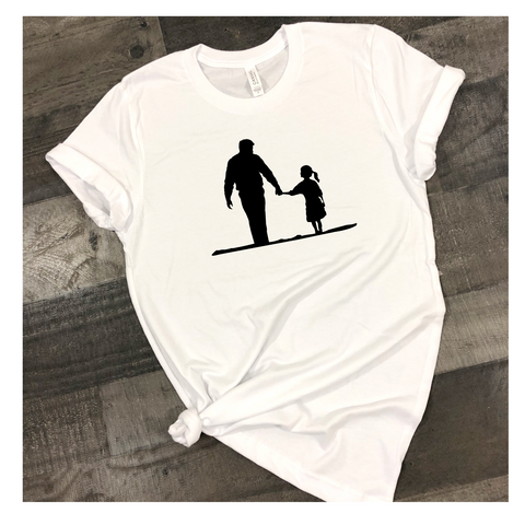 Dad Daughter SIlhouette
