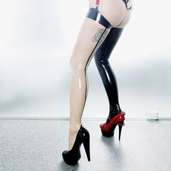 Seamed stockings EMILY 2