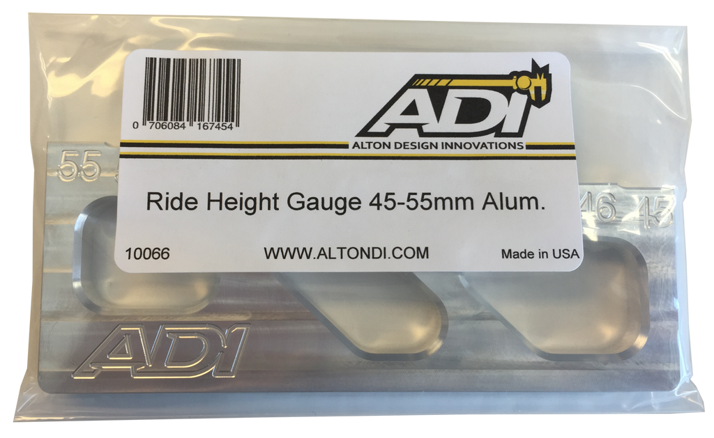 10066 Ride Height Gauge 45-55mm Alum.