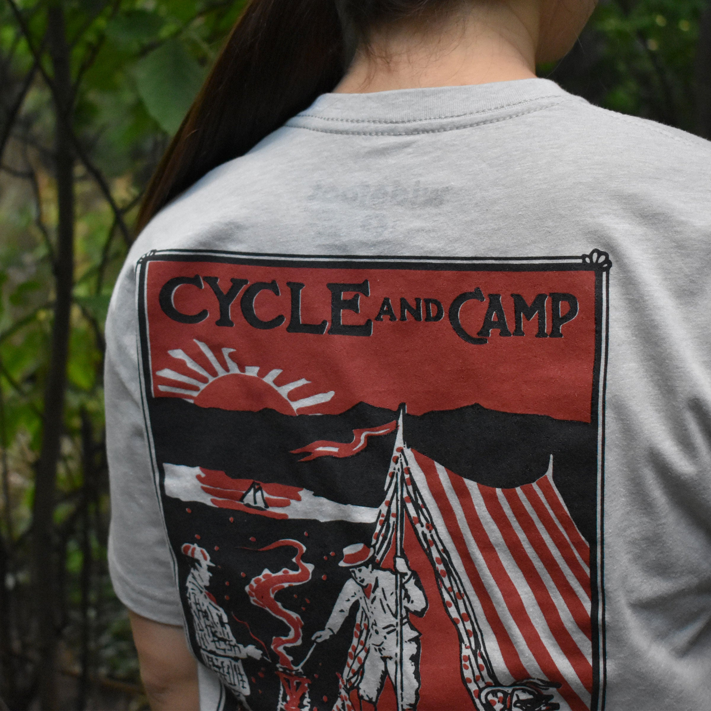 Cycle and Camp T-Shirt, Small