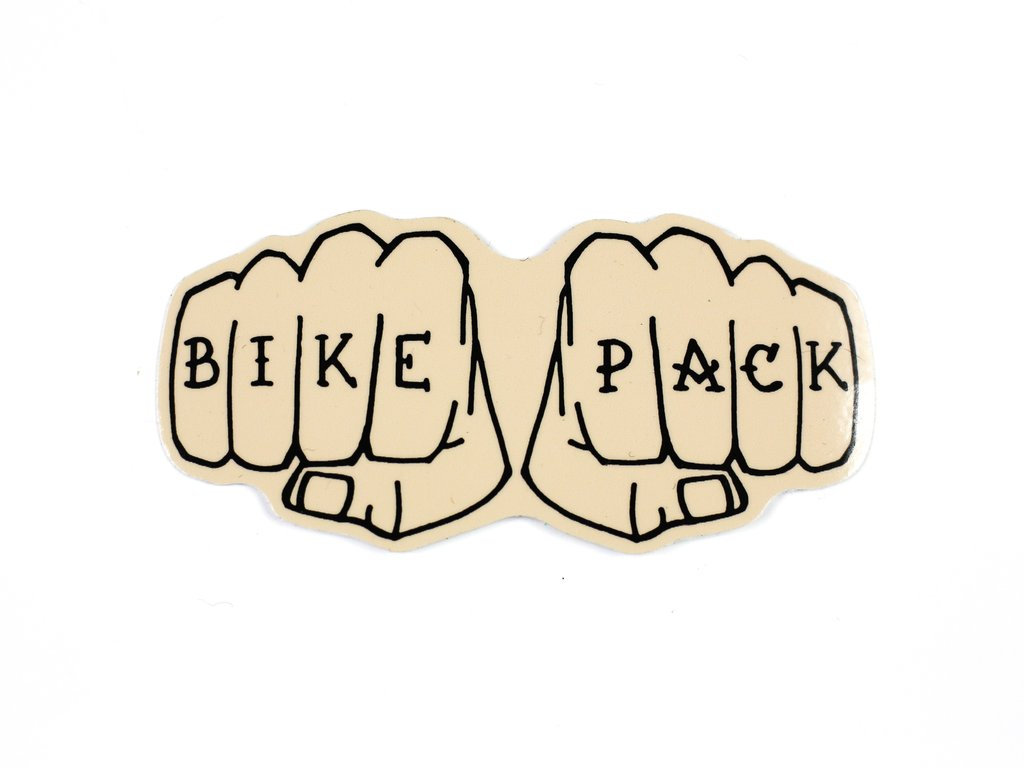 BikePack Stickers, 3-Pack
