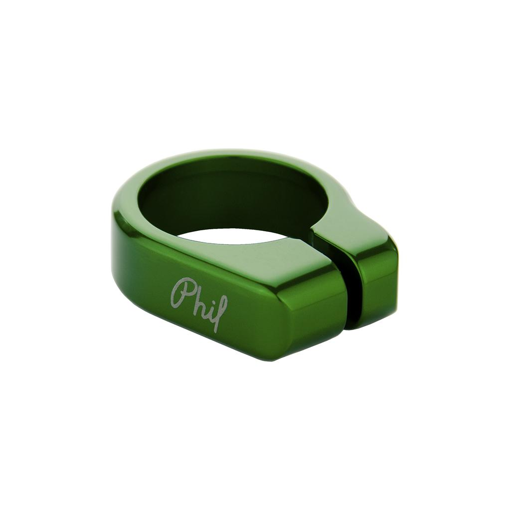 Seatpost collar, 31.8mm, Green