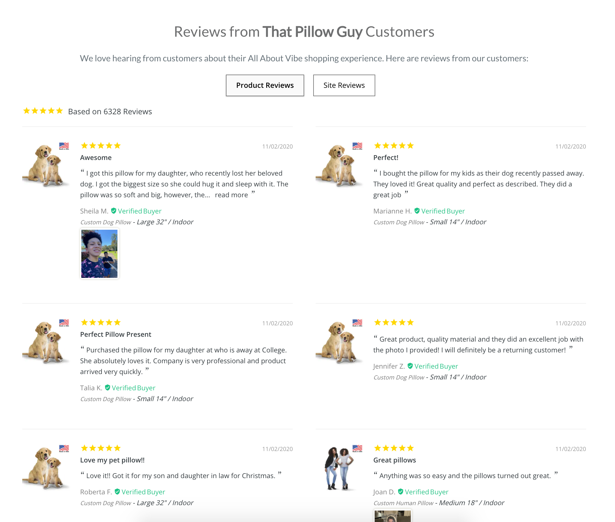 That Pillow Guy Reviews
