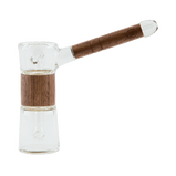 Marley Natural | Glass & Walnut Bubbler
