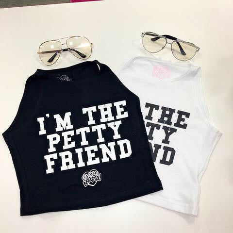 CCM Petty Friend Crop Top