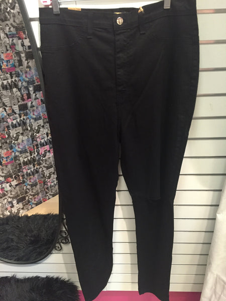 Plus Size Black Jeans