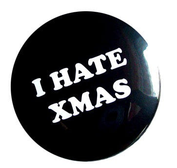 ⚡⚡⚡ Button I hate xmas