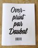 Overprint by daubal, 64 pages