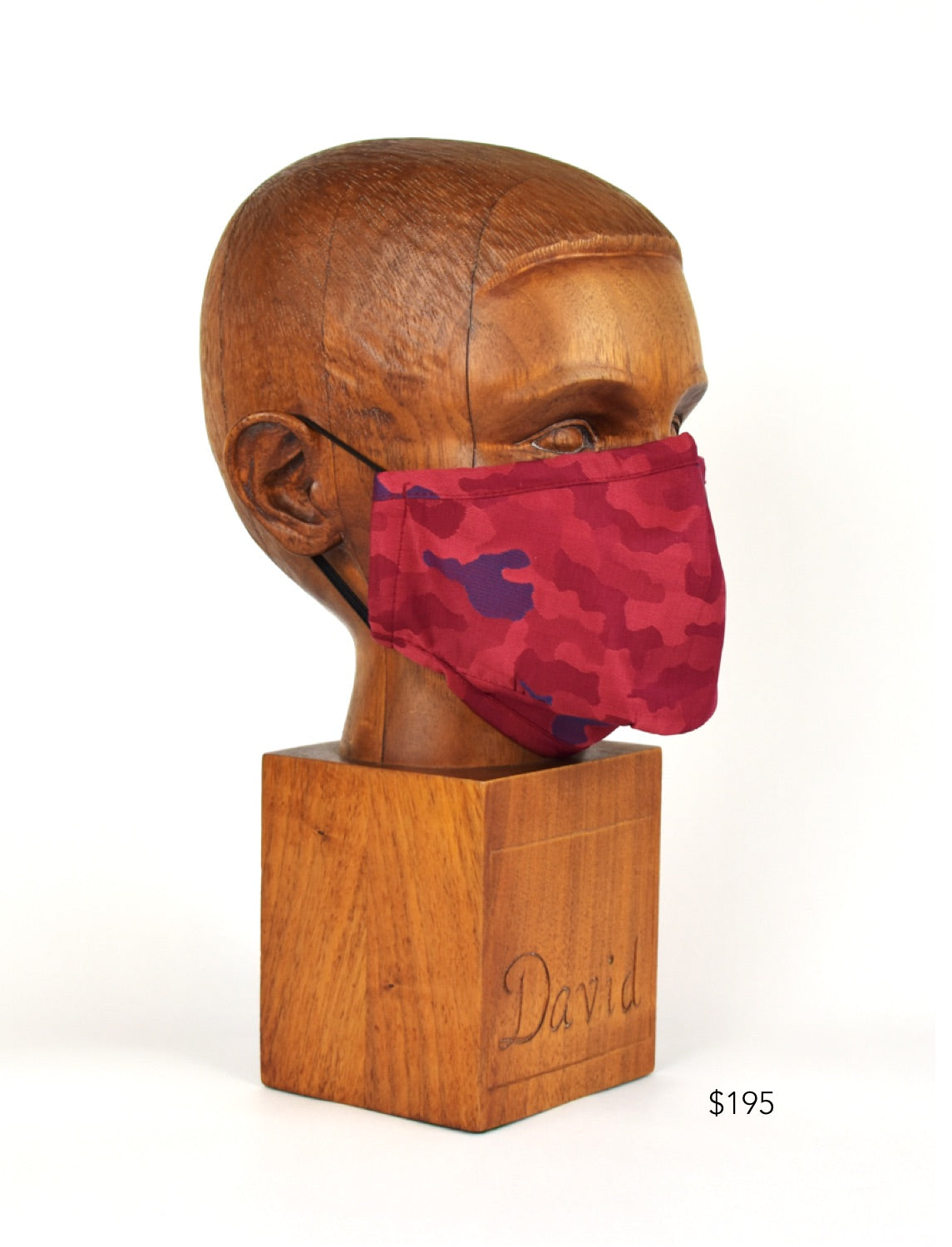 Premium Red Camo Cloth Face Mask