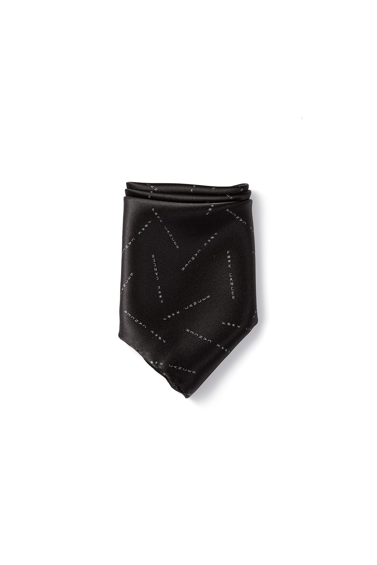 Miracles For Kids Exclusive Silk Pocket Square - Black