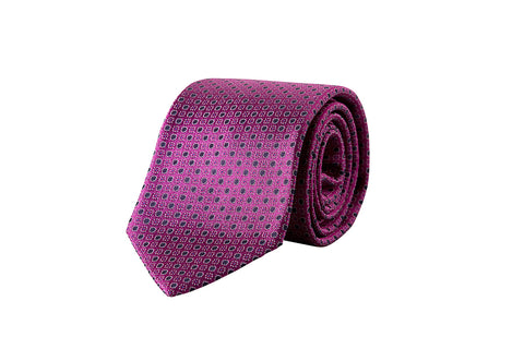 Miracles For Kids Exclusive Silk Jacquard Tie - Purple