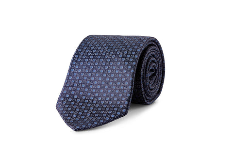 Miracles For Kids Exclusive Silk Jacquard Tie - Warm Grey