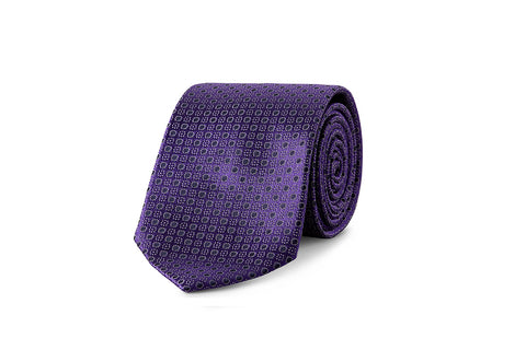 Miracles For Kids Exclusive Silk Jacquard Tie - Blue