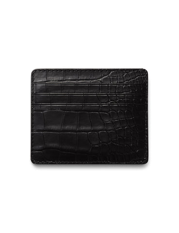 David August Luxury Genuine Vintage Calfskin Leather Passport Holder