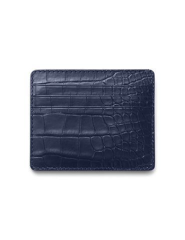 David August Luxury Genuine Epi Leather Bi-Fold Wallet