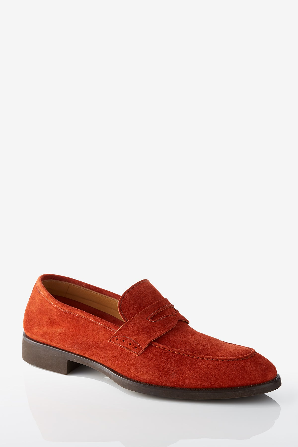 David August Suede Penny Loafer in